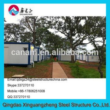 china manufature cheap and fast installing house container camp tent