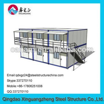 Modular movable container prefab office house