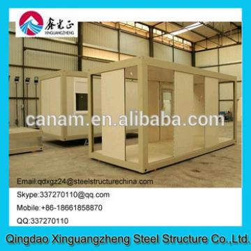Flat pack prefab container house windproof with ce as csa standard