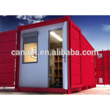 20ft container house eco-friendly container house colorful painting house
