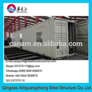 Prefab designed sandwich panel frame container guest house