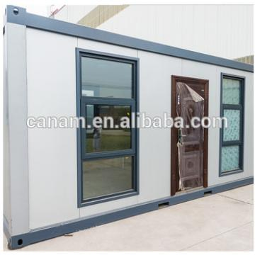 Iso and BV steel structure container living house with window