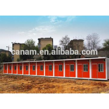 Flat pack portable container house container refugee camp