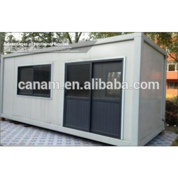 Japanese Type Modified house container Mobile Modular Homes with Steel Plate Blending Wall