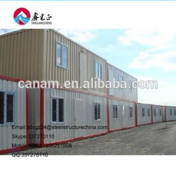 Container house and prefab house for refugee camp