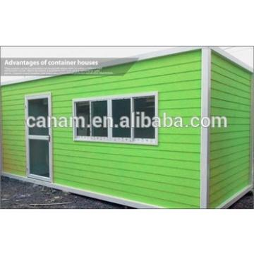 Living Modular Container Homes with slide windows