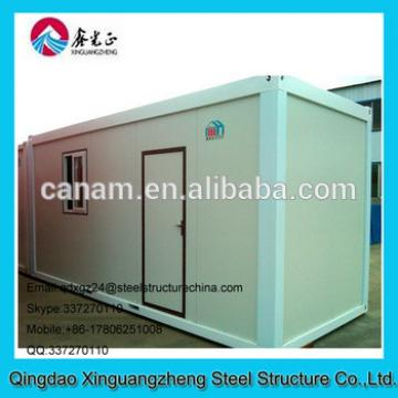XGZ steel frame flat pack container house for living