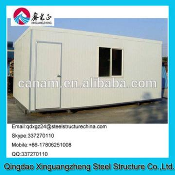 Flat pack EPS sandwich panel container living house