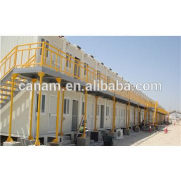 Flat pack two storey oil gas mines container dormitory camp