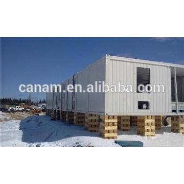 Prefabricated camping house cotnainer