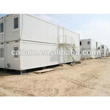 Steady steel frame low price container refugee house