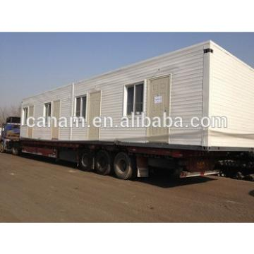 China manufacture waterproof/fireproof/ anti-wind portable prefabricated container house design