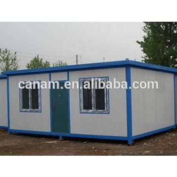 Flat pack fast installing prefab house with light steel bottom and top