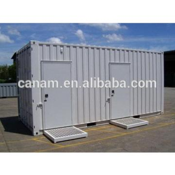 mobile stell shipping container toilet