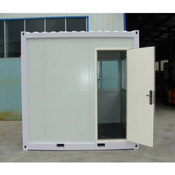 Low cost easy installation flat pack folding container house