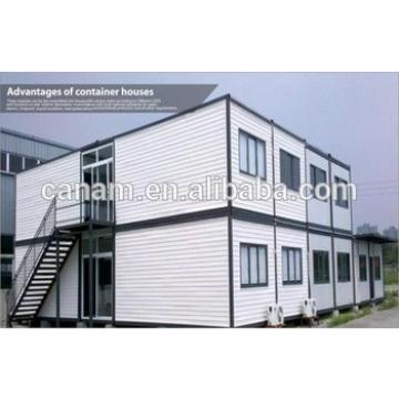 Two storey container house flat pack portable home container home