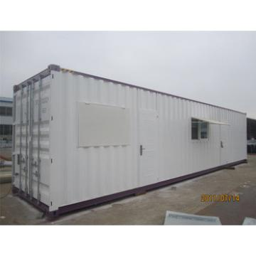 Cheap movable prefab 20ft container house
