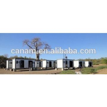 Movable prefab platpack 20ft container house in South Africa