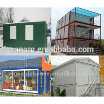 Canam- professional steel frame container house building
