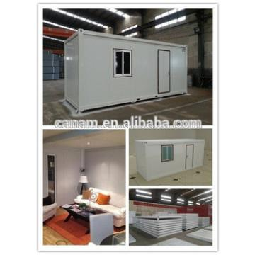 High quality flat pack container house for living