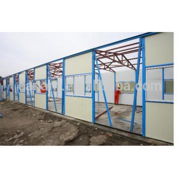 Canam Prefab light steel movable plank building Home