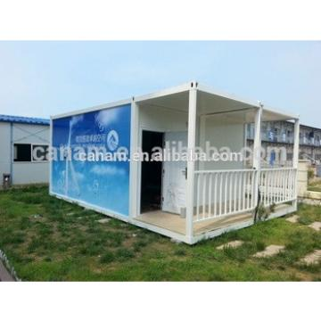 Customized light steel prefab house used for hotel