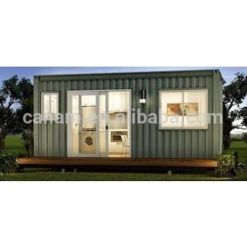 finished prefab house container mobile / light steel frame structure house