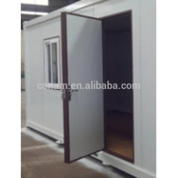 New style Stainless steel outdoor security prefab house