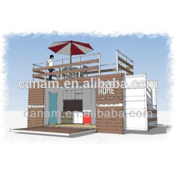 Prefab house simple custom high grade light steel container villa
