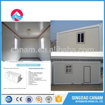 friendly good quality modular container house/villa/office from China supplier