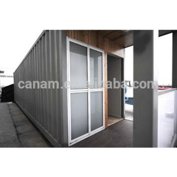 Fashionable flat roof sandwich panel prefab club house