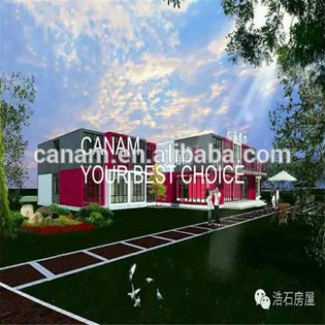 Prefab house simple custom high grade light steel container hotel