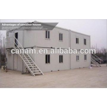 Economical Prefabricated Accommodation houses , portable temporary housing