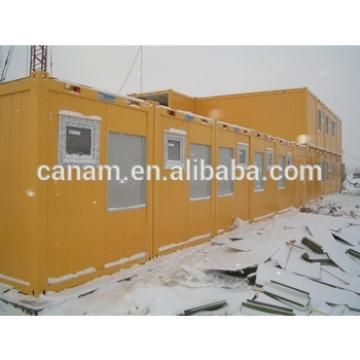 Winter warm container house refugee camp