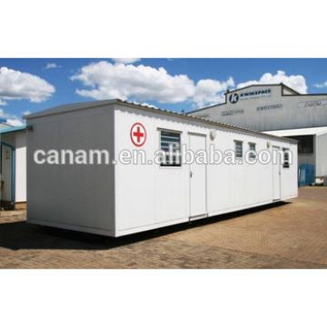 Flat pack prefabricated house used for makeshift hospital container house