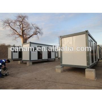 Modular mobile container prefab house