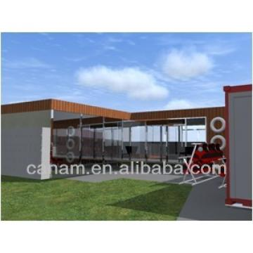 20ft prefab self-made container homes to use as bar, container homes china
