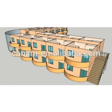 steel structure hotel, flat pack container hotel building
