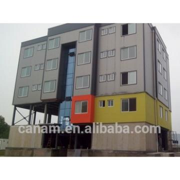 20ft ISO prefab container hotel model with toilet, bedroom