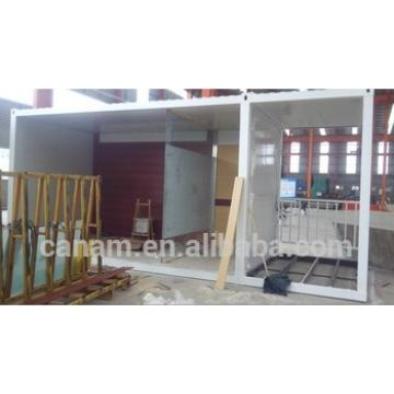 20ft container hotel model with toilet, bedroom