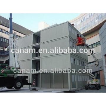 Multi- layer prefabricated modular container hotel room