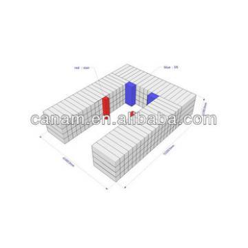 prefabricated container mobile hotel design