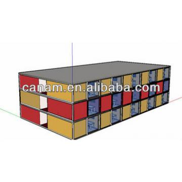 Fast installed prefab container hotel accommodation