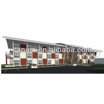 China modern prefab container house hotel price