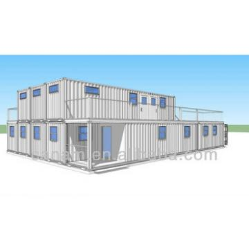 portable 20ft modified shipping container villa to live in