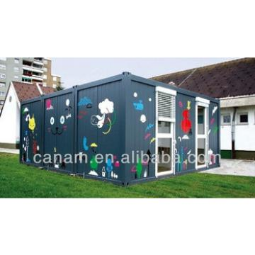 portable 20ft modified container villas design, price