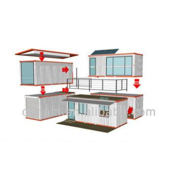 modified shipping container cabin and villa