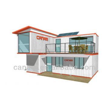 deluxe and luxury modified ocean container cabin and villa
