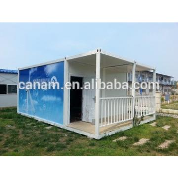 flat pack living container house, prefab modern container house for sale