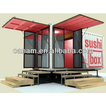 CANAM- Cheap standard 20ft living prefab container homes